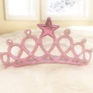 Pink Crown Headband Bow For Babies